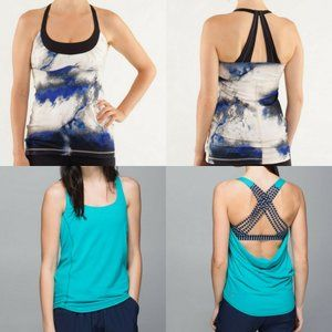 Lululemon Wild Tank & Scoop Me Up Tank Bundle